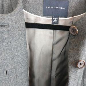 Banana Republic Jackets & Coats - Banana Republic Gray Blazer Suit Wool Jacket
